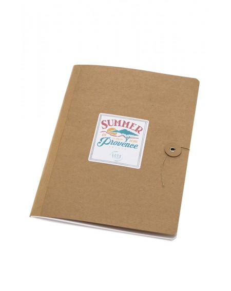 """Summer in Provence"" notebook"