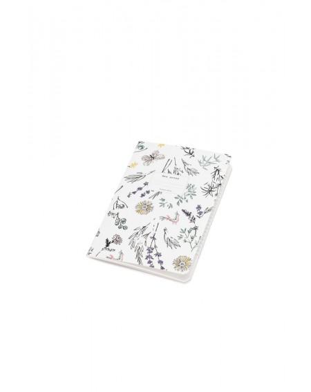 "Small ""Provençal garden' notebook"