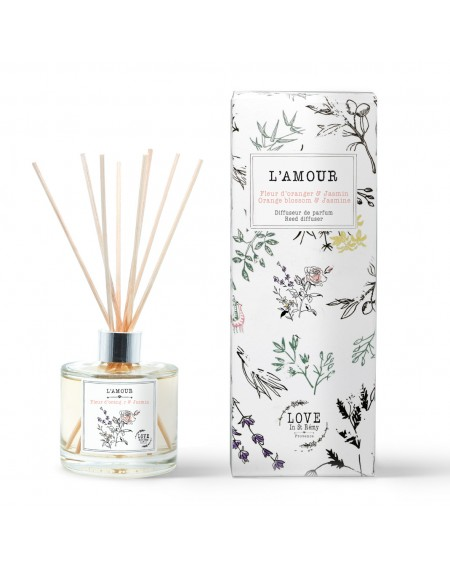 "Reed diffuser ""L'Amour"""