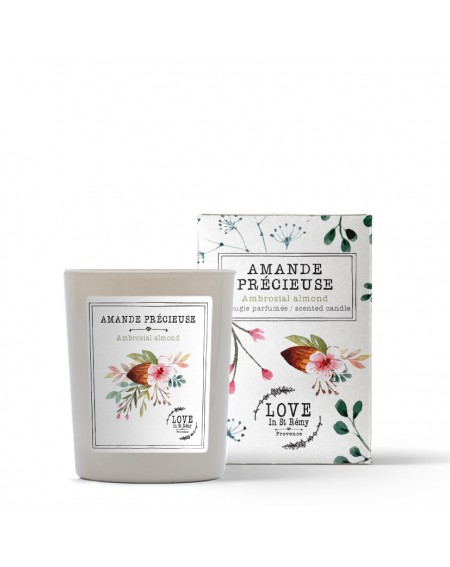 """Ambrosial almond"" candle"