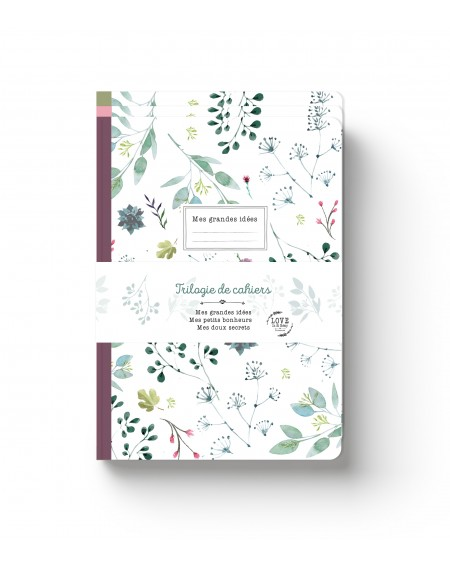 """Just for me"" notebooks Trilogy"