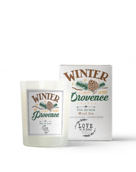 """Winter in Provence"" candle"