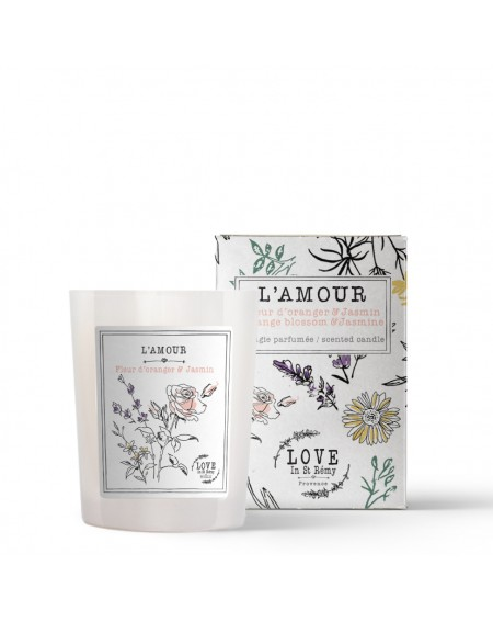 """""""L'Amour"""" candle"""