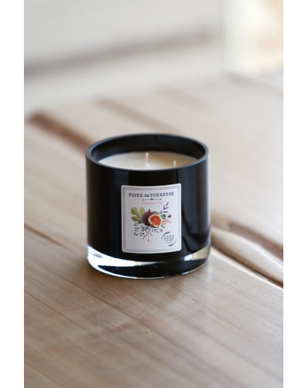 "3 wick ""Luscious fig"" scented candle"