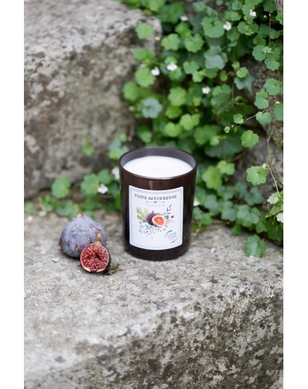 """Luscious fig"" candle"