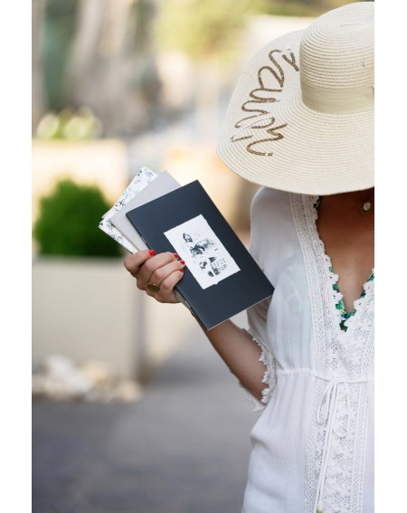 Black and white Gypsy notebook