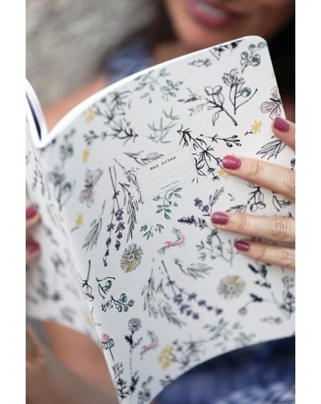 """Large """"Provençal garden"""" notebook"""