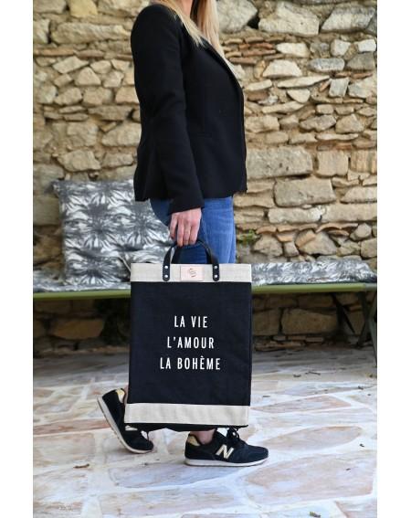 Large black market bag