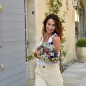 S'offrir des fleurs, sans raison, juste pour se faire plaisir ! 🌿❤💐 - 🇬🇧 Don't forget to buy yourself flowers from time to time... you deserve it !