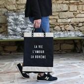 Chic, pratique et éco-responsable, ce sac ne vous quittera pas de l'été ! ☀👒🌿❤️ Existe en toile de jute naturelle et aussi en petite taille. #provence #inspiration #summer #marketbag #love #life Bring this bag with you all summer long ! ☀👒🌿❤️  Photo 📸 @thierryteisseire